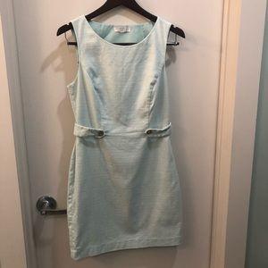 Soft teal dress